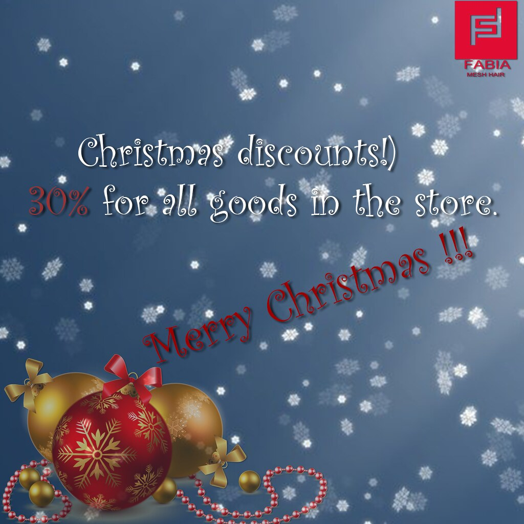 Christmas discounts!) 30% for all goods in the store - TeleportHub.com Live!