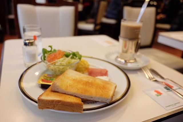 イノダコーヒーのモーニング 2017/12/29 Breakfast