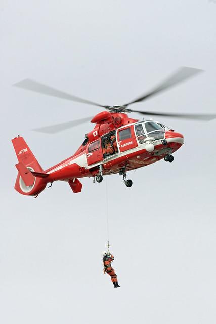 名古屋市消防航空隊 ユーロコプターA365N3 JA758A IMG_0939_2