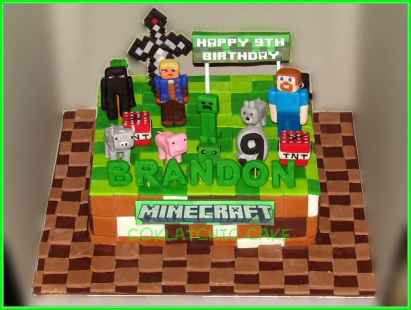 Cake Minecraft Brandon