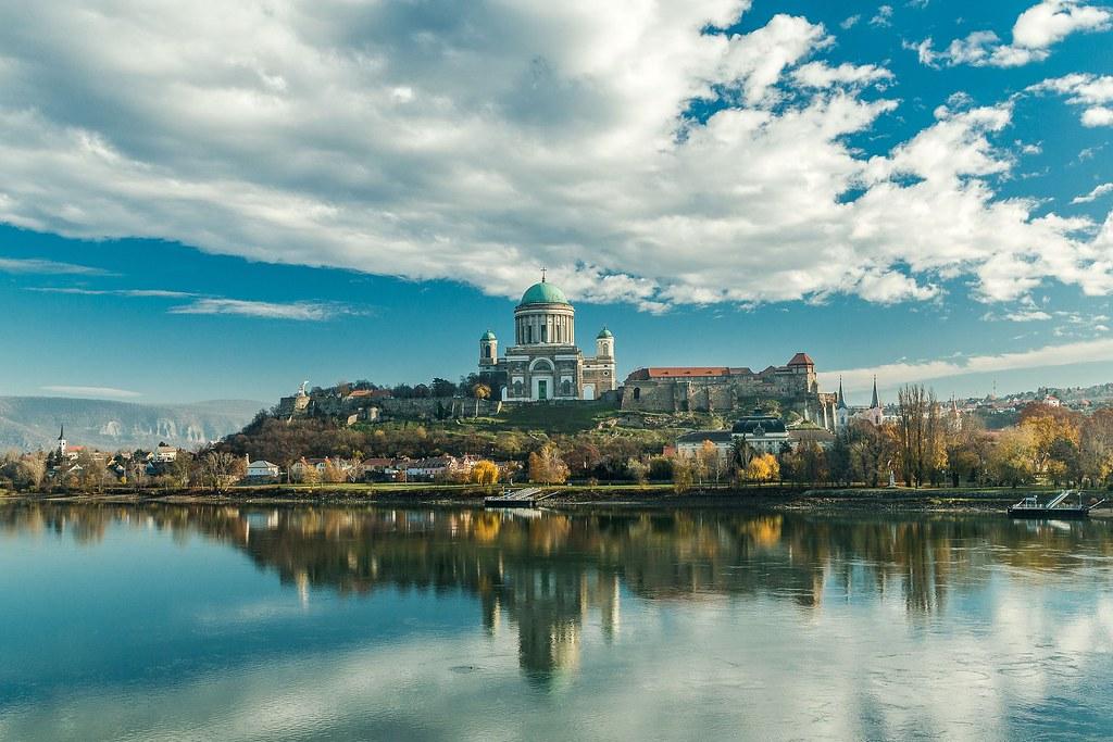 Basilique d'Esztergom en Hongrie.