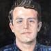 2017 portret Stijn oil:canvas 30x24