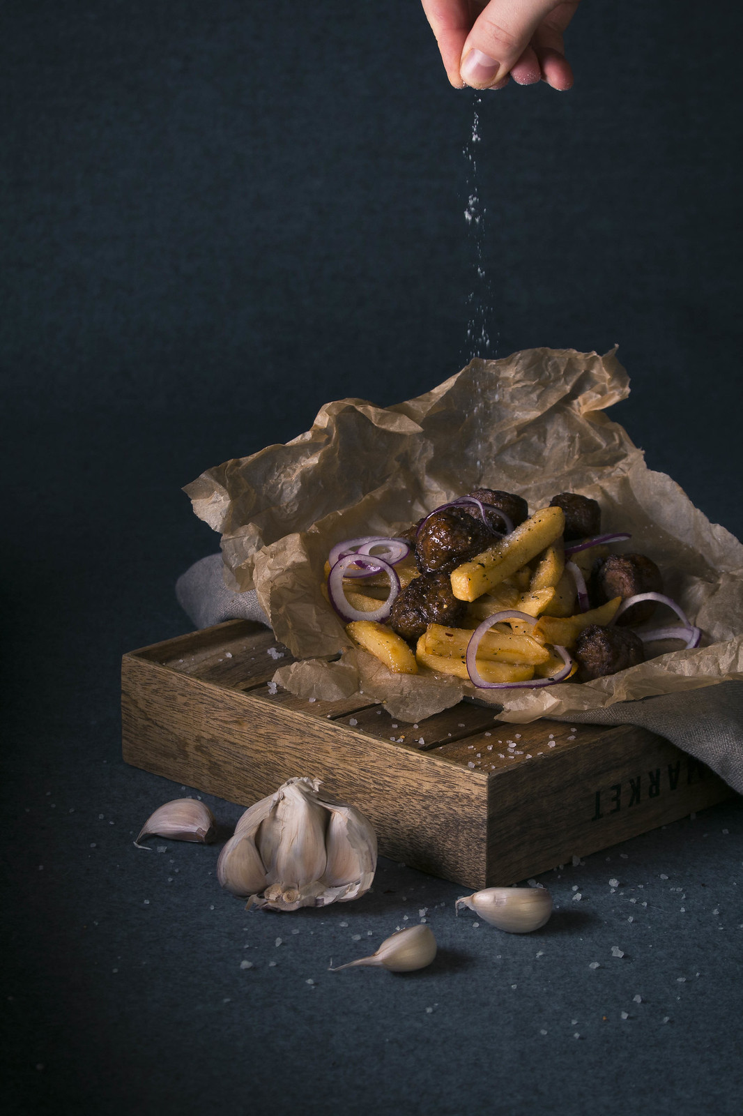 French fries & stuff / Food photography