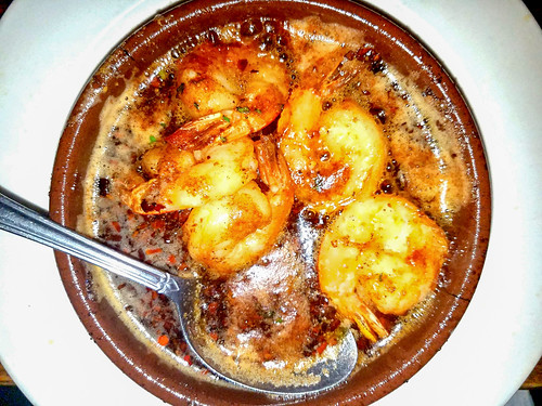 Seared Spicy Shrimp