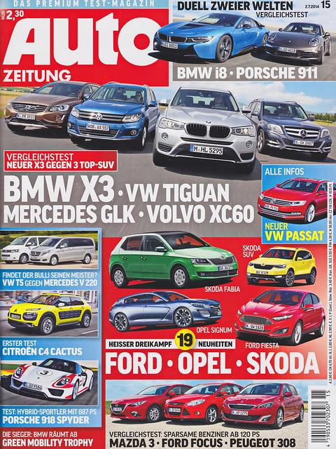 Auto Zeitung 15/2014