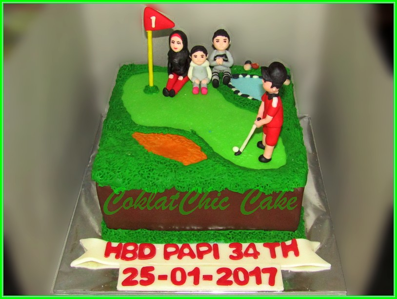 Cake Golf PAPI 20cm
