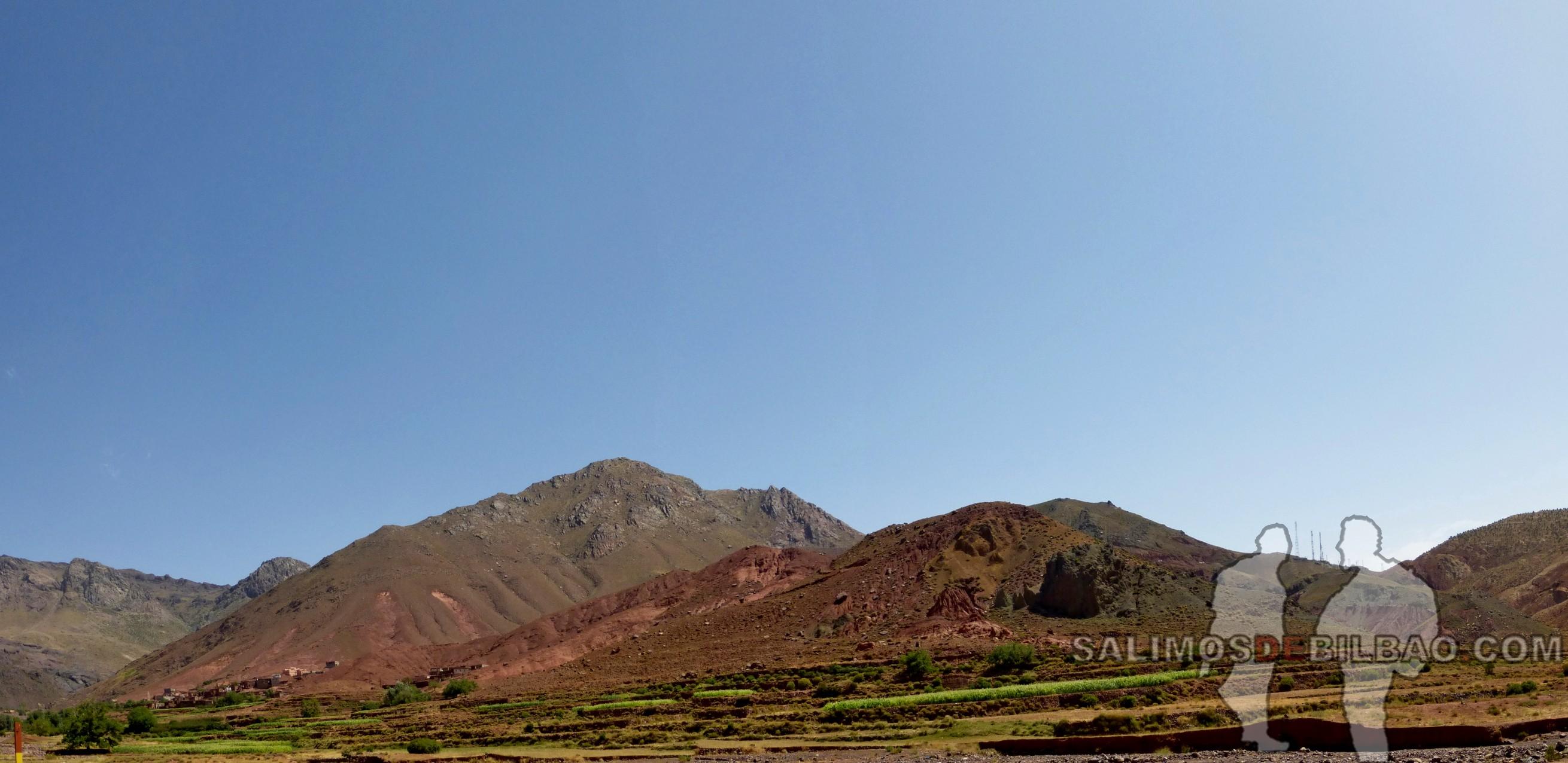 667. Pano, Camino de Tabourahte a Marrakech