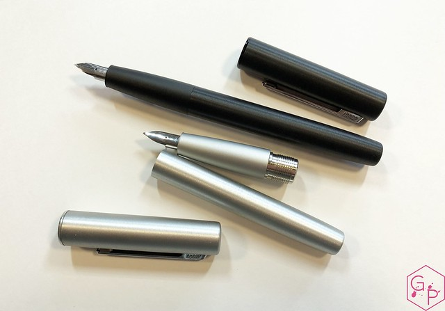 Review Lamy Aion Fountain Pen - Black & Olive Silver @AppelboomLaren 9