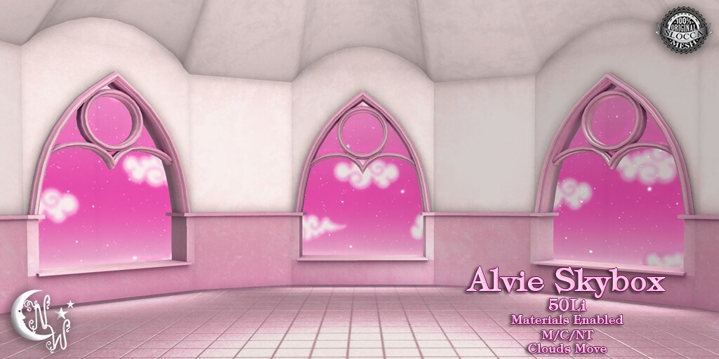 Alvie Skybox - Pink - TeleportHub.com Live!