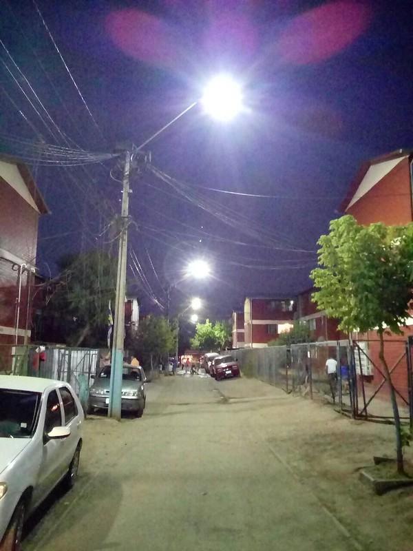 Mejoramiento Luminarias - Barrio Costa del Sol – Rancagua