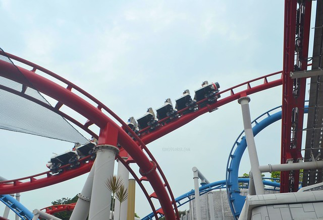 Must-Rides in Universal Studios Singapore battlestar galactica human vs cylon