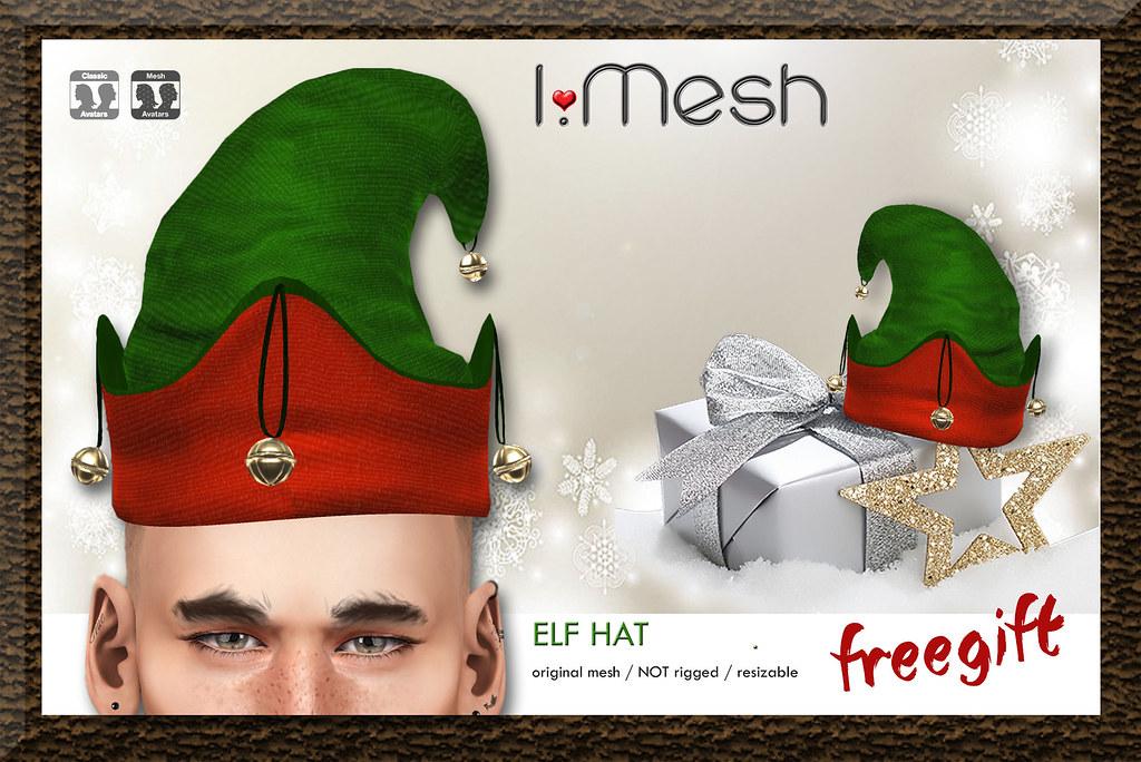 Christmas ELF HAT - free gift - TeleportHub.com Live!