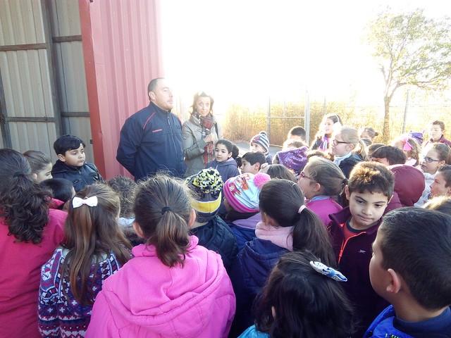 Visita a  los bomberos Cursos de 2º