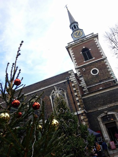 St James Piccadilly at Xmas