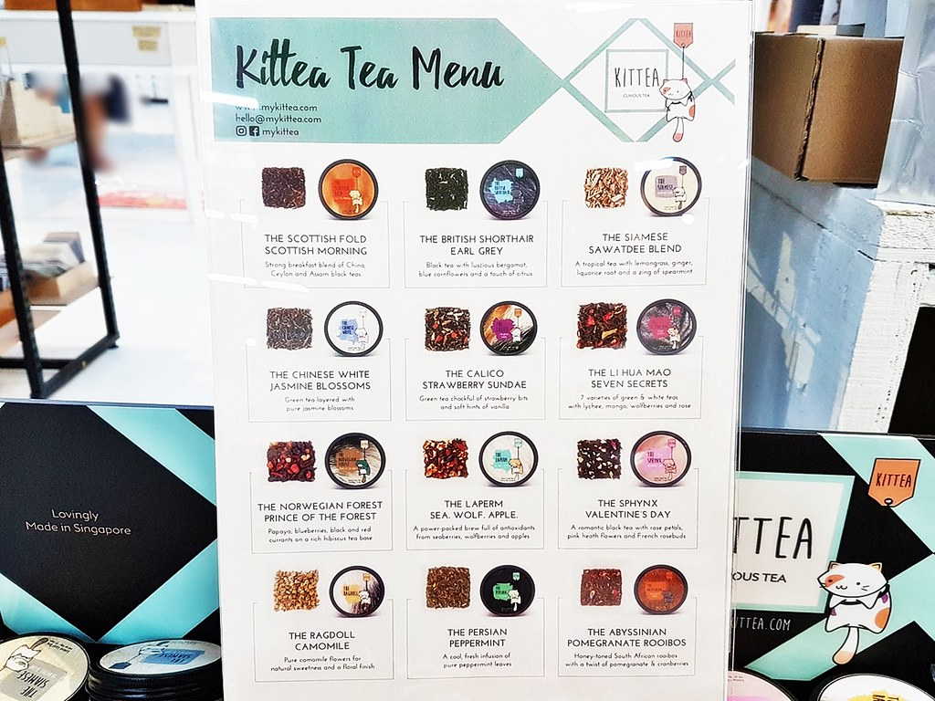 Kittea Range Of Tea Flavours