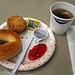 Breakfast at Hampton Inn & Suites in Merced, CA