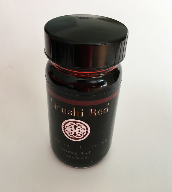 Ink Shot Review Franklin-Christoph Urushi Red @1901FC 1