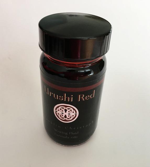 Ink Shot Review Franklin-Christoph Urushi Red @1901FC 1