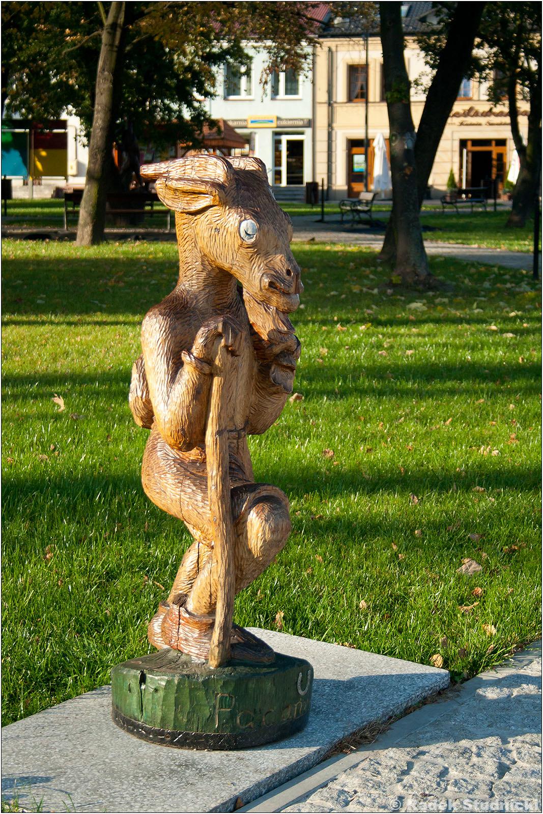 Pomnik Koziołka Matołka w Pacanowie