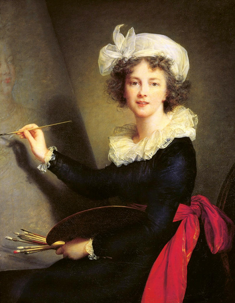 Self-portrait by Louise Élisabeth Vigée Le Brun, 1790