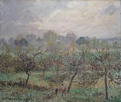 Automne, brume du matin, Eragny (C Pissarro - PDRS 1472)