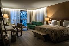 Stilvolle Einrichtung im Zimmer