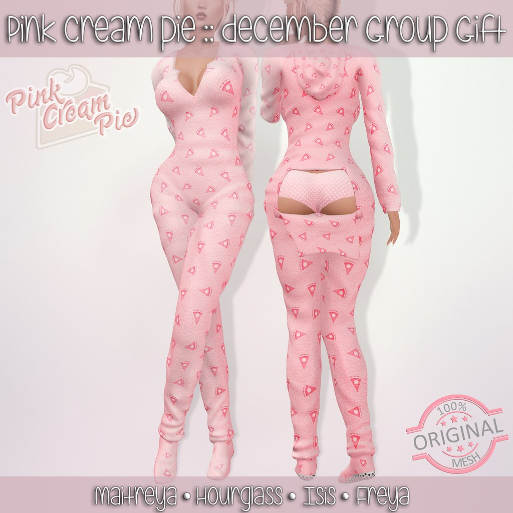 December Group Gift :: Pink Cream Pie - TeleportHub.com Live!