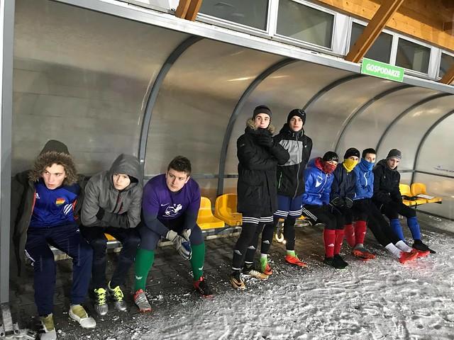 AP Podhala | Sparing juniorów z seniorskim Dunajcem Ostrowsko