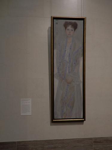 DSCN9969 _ Portrait of Gertrud Loew, Klimt, 1902 - Klimt & Rodin