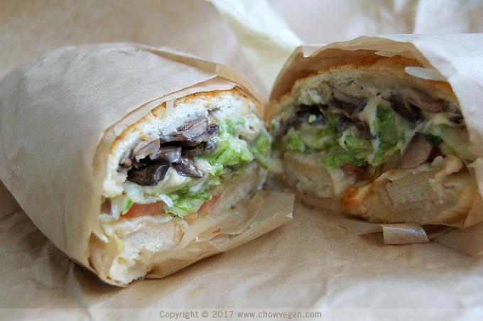 Ike's Place Vegan Tom Brady Sandwich | Chow Vegan