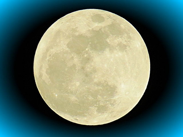 Supermoon over Massapequa, New York. 100 Percent of Full. Moon distance to Earth: 225,776 miles. 7:04 PM Eastern Time January 1, 2018.