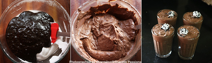 How to make dates dark chocolate mousse recipe