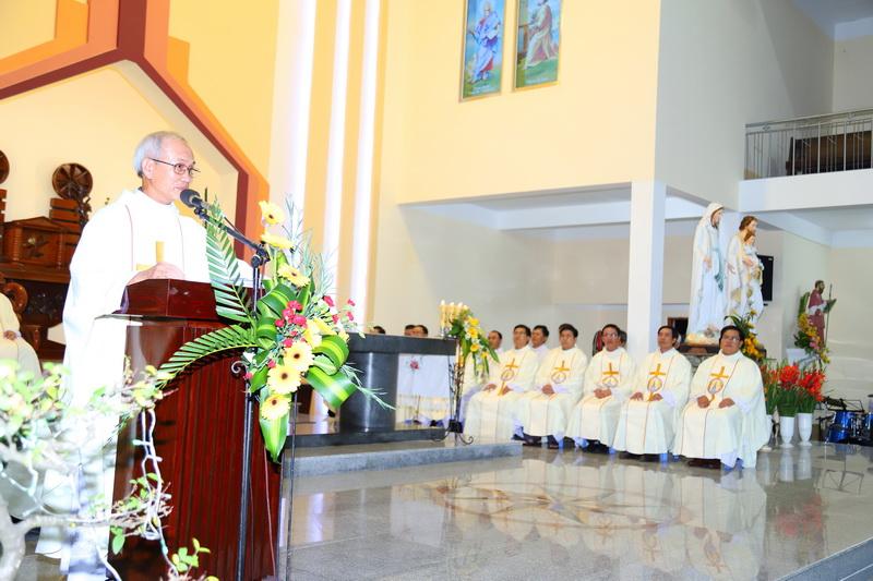 Thánh lễ tạ ơn kỷ niệm 05 năm và 01 năm Linh mục
