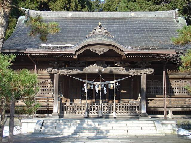 彌高神社 Iyataka Shrine