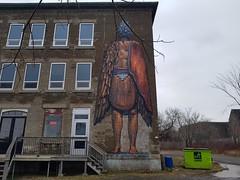 Mural by Bonar - Le Passage, Moncton, New Brunswick