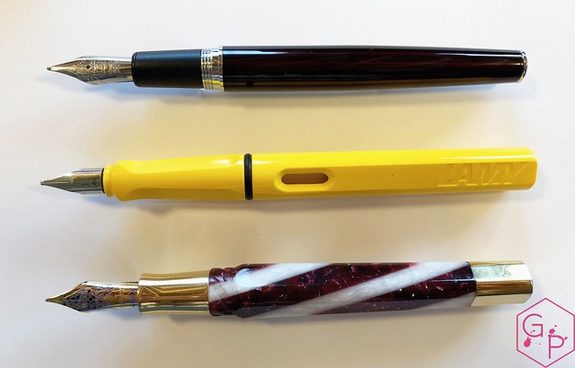 Review @Retro1951 Tornado Black Cherry Fountain Pen 10_RWM