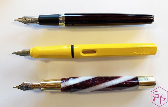 Review @Retro1951 Tornado Black Cherry Fountain Pen 10_RWM