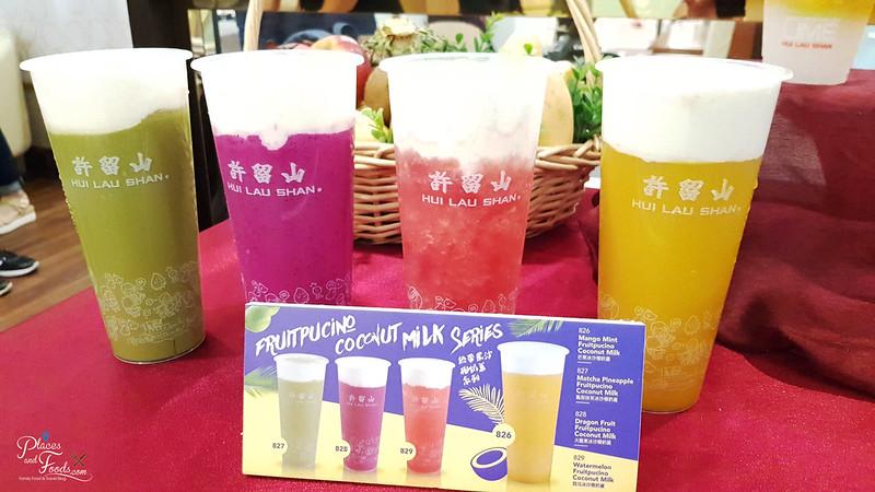 hui lau shan fruitpucino series