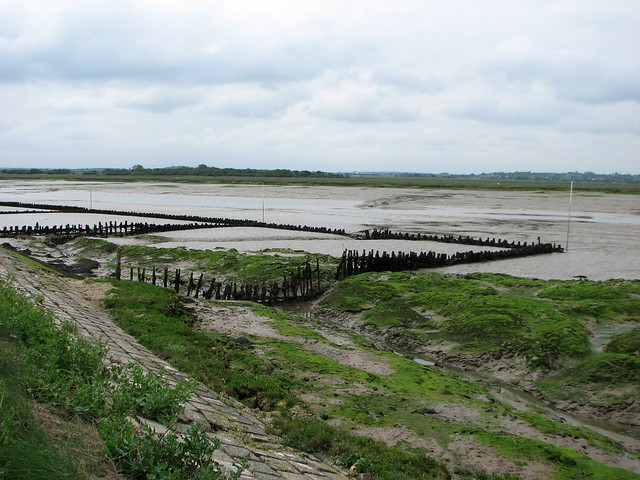 Old Oyster pits near West Mersea