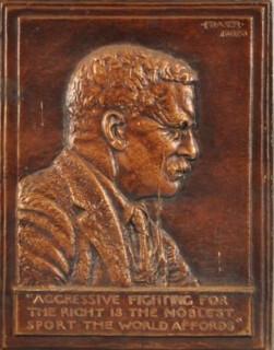 1920 Theodore Roosevelt Plaque