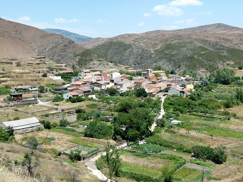 TORTUERO (Guadalajara). Spain. 2014. Sierra Norte. Vista del pueblo.