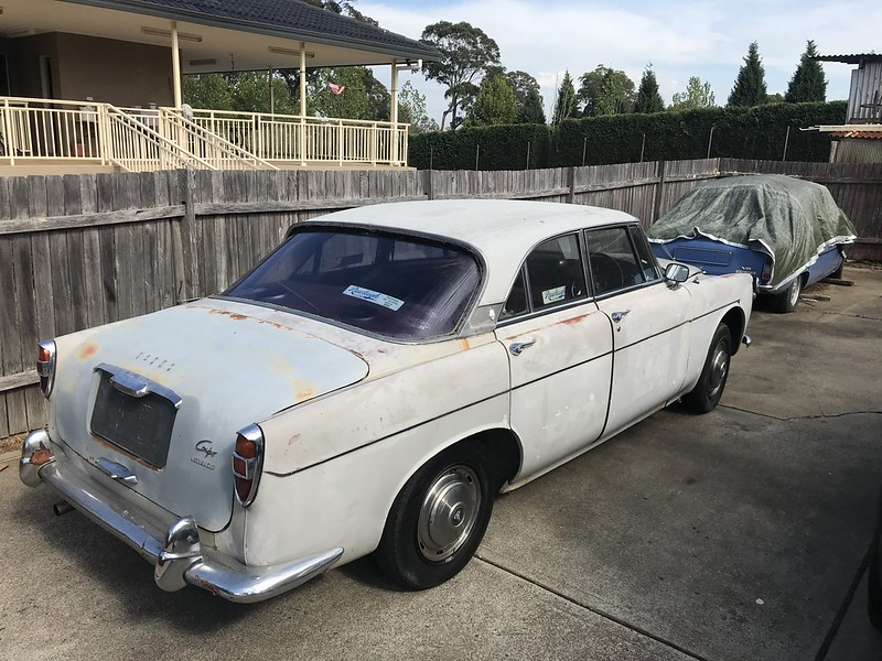 Last drive of my $230 Rover P5 Coupe
