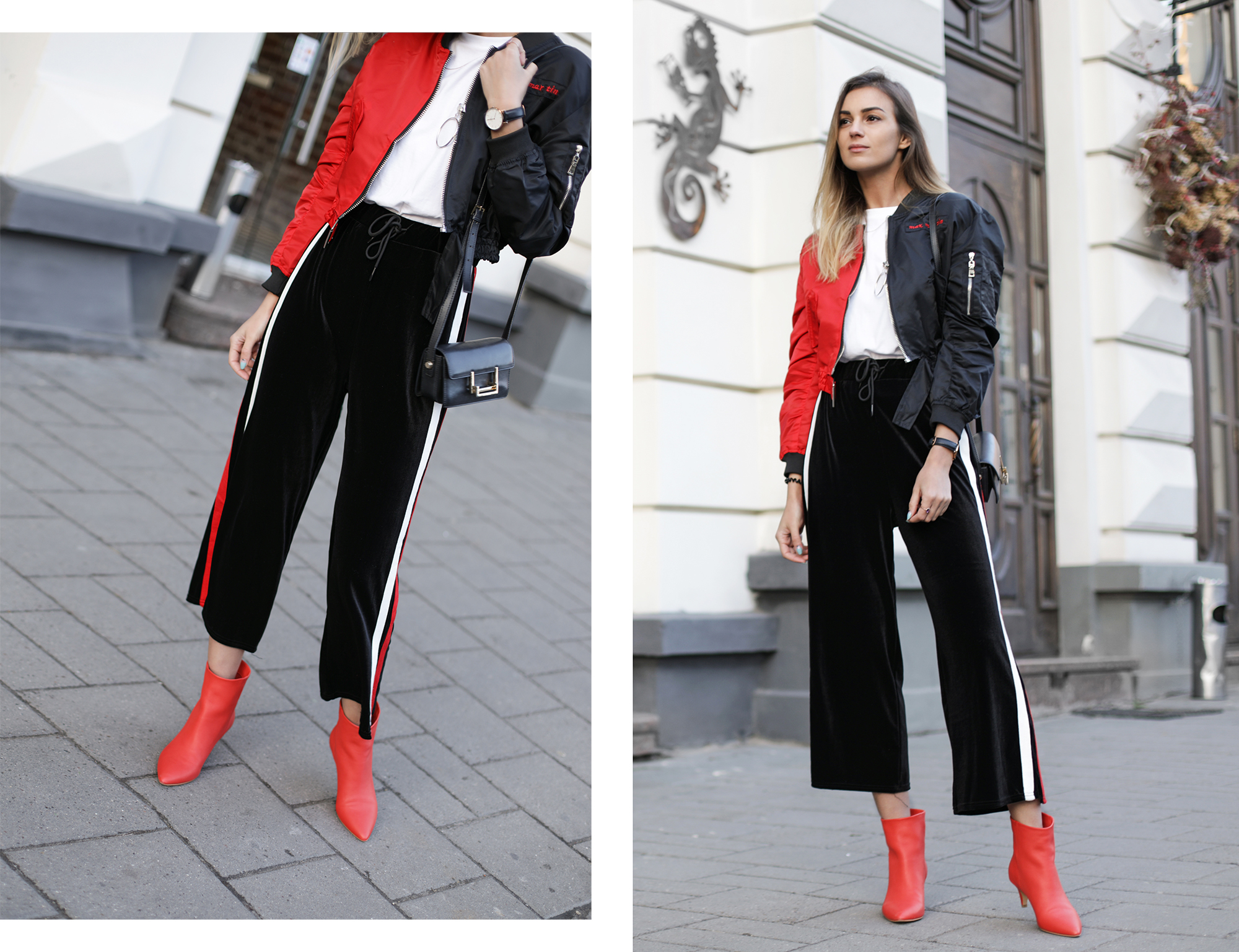 how-to-wear-track-pants-heels-outfit-street-style