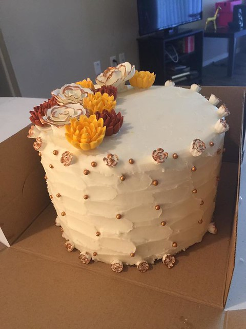 Cake by Crowned Cakery