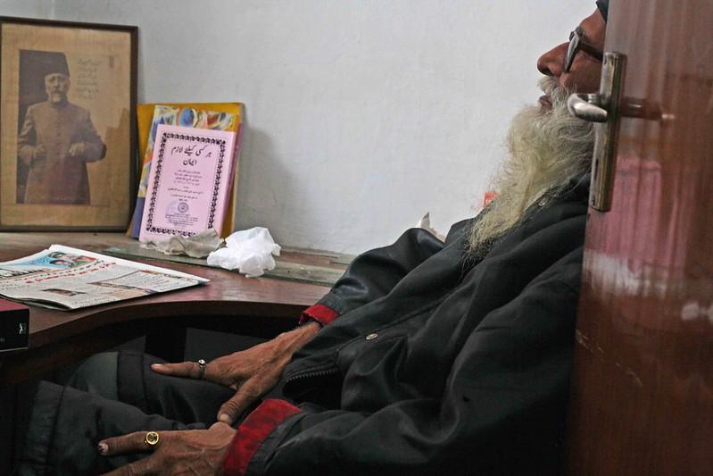 City Obituary - Muhammed Waseem, aka Saeed Bilgarami, Ghalib Academy's Library