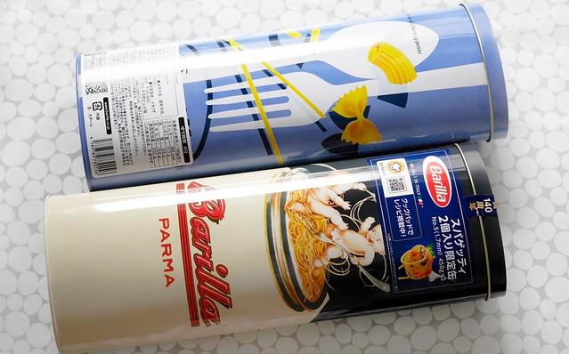 バリラ 140周年 スパゲッティ 限定缶