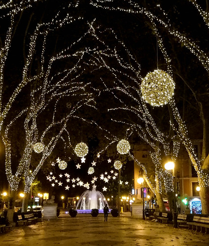 Christmas lights in Palma de Mallorca