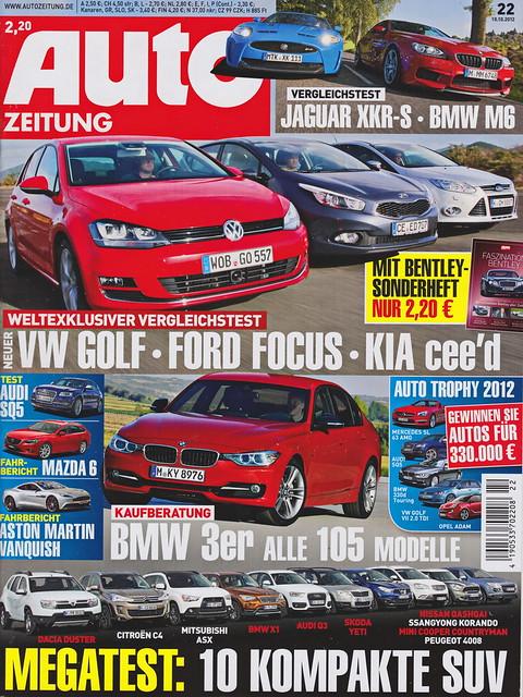 Auto Zeitung 22/2012