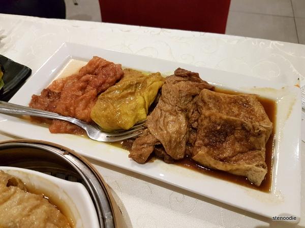 Triple Flavoured Gluten Dish