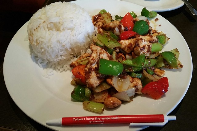 2018-Jan-4 - Green Basil Thai Restaurant - G9L Chicken with Cashew Nuts